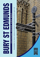 Cover of the Official Guide to Bury St Edmunds
