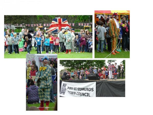 Photo montage of some of the events which took place during the fete